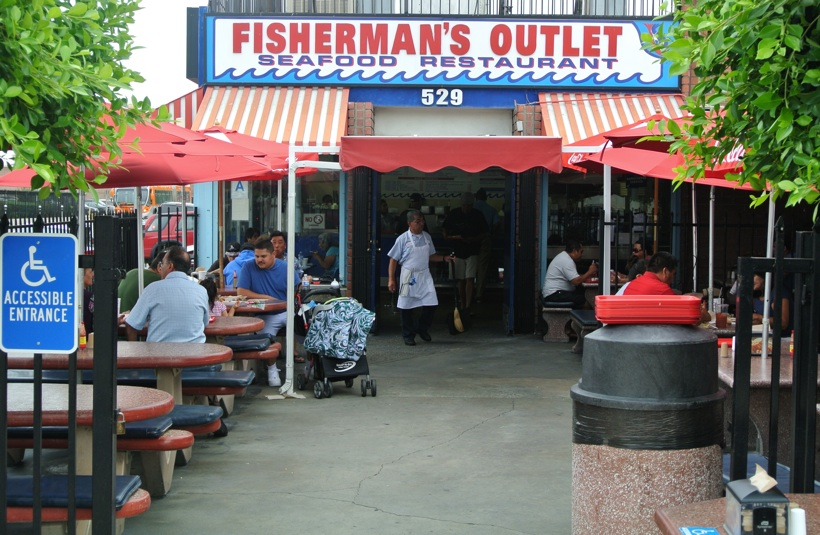 Exterior Fishermans Outlet