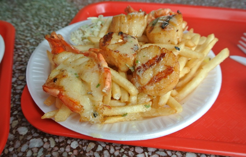 Shrimp Scallop Fishermans Outlet