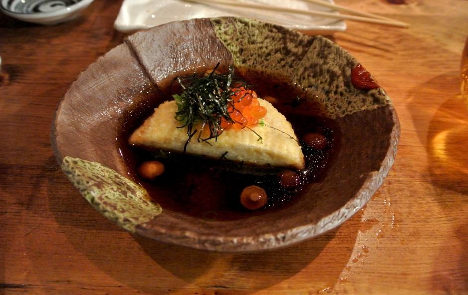 Agedashi Tofu Raku