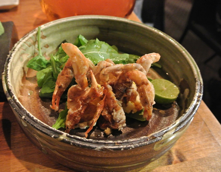 Soft Shell Crab Raku