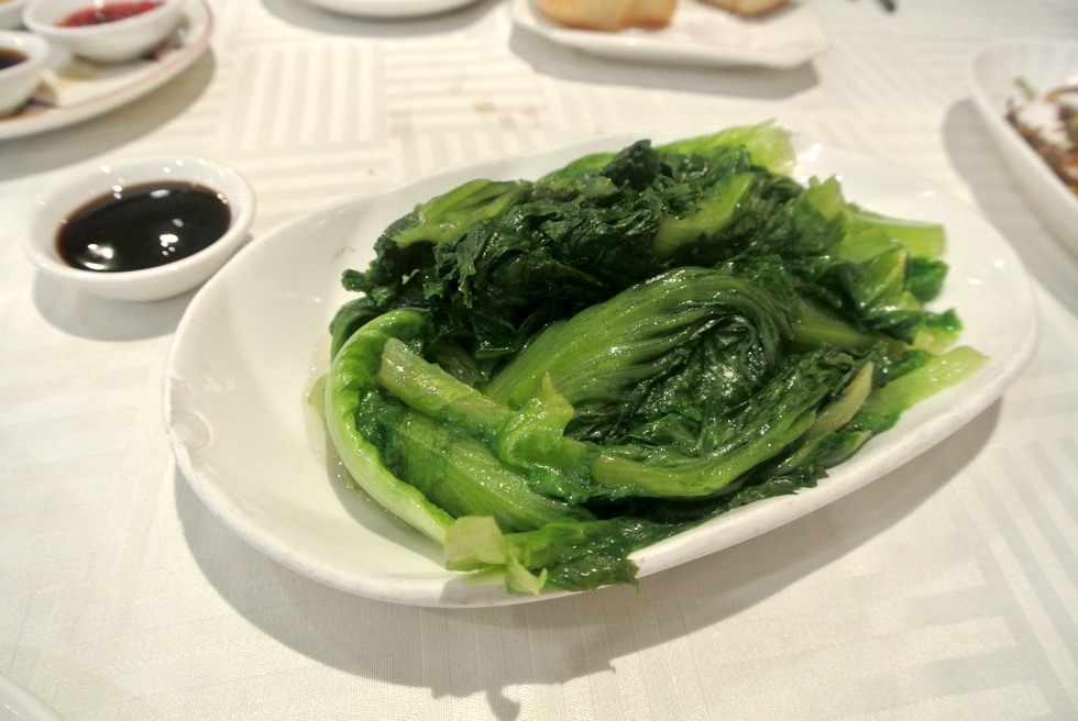 Poached Chinese Lettuce Sea Harbour