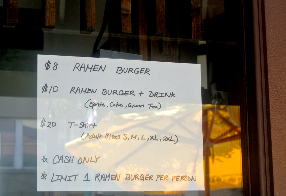Window Ramen Burger