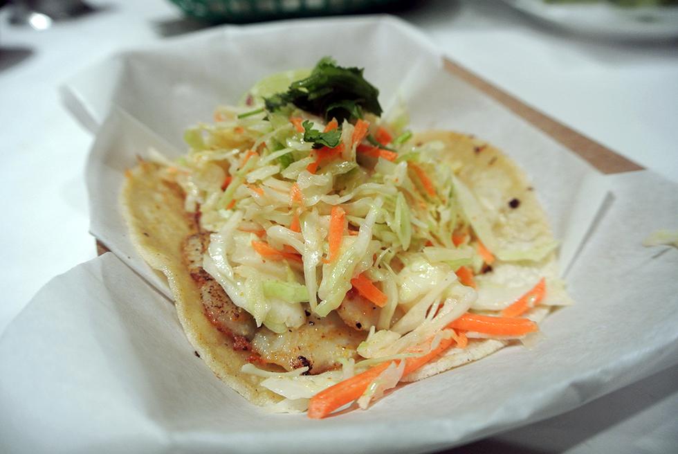 Tilapia-Taco