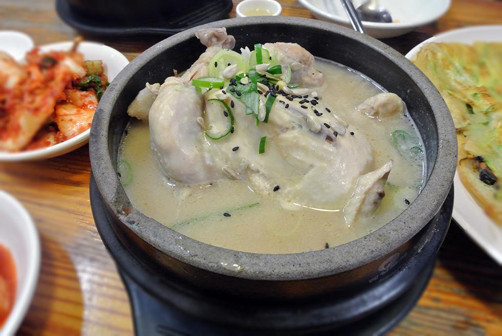 samgye-tang